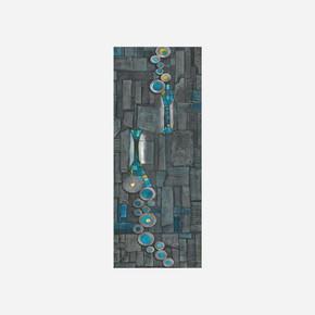 40x100cm Çerçeveli Canvas Tablo