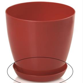 Begonya Saksı Tabağı Kırmızı 2,2lt