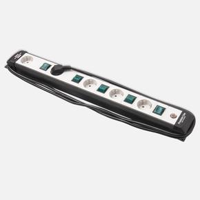 Premium Line 5' li Anahtarlı Priz 3x1,5mm  3m