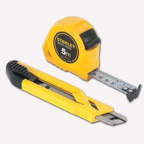 Stanley 74-252-8 Maket Bıçağı + Metre Seti