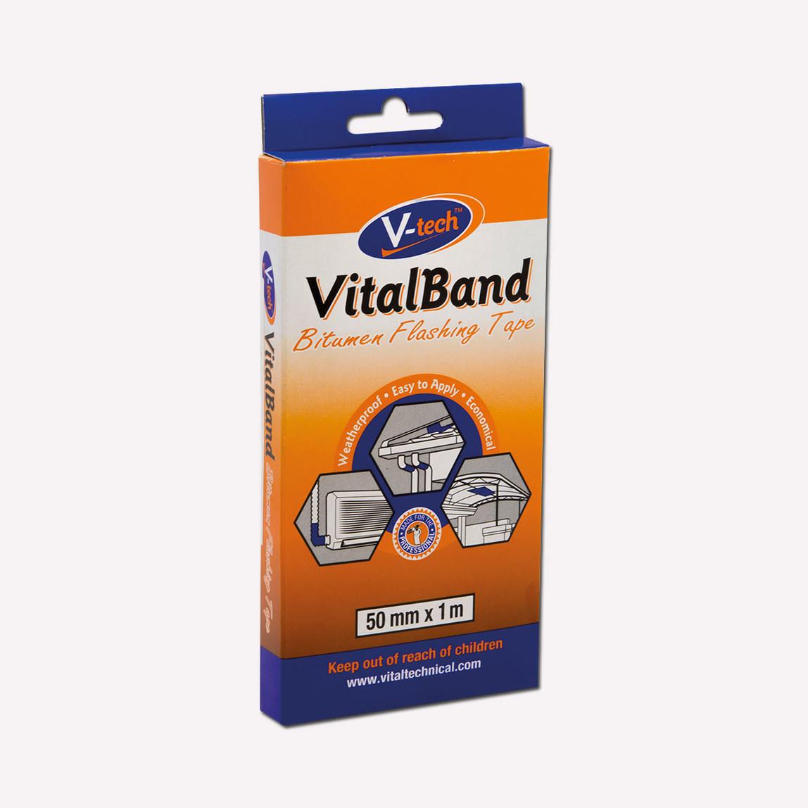 50mmX1mt VT-420501 Vital Band Bitüm İzolasyon Bandı İ