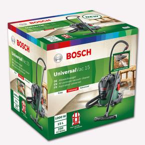 Bosch Universal Vac 15 1000W Islak Kuru Elektrikli Süpürge