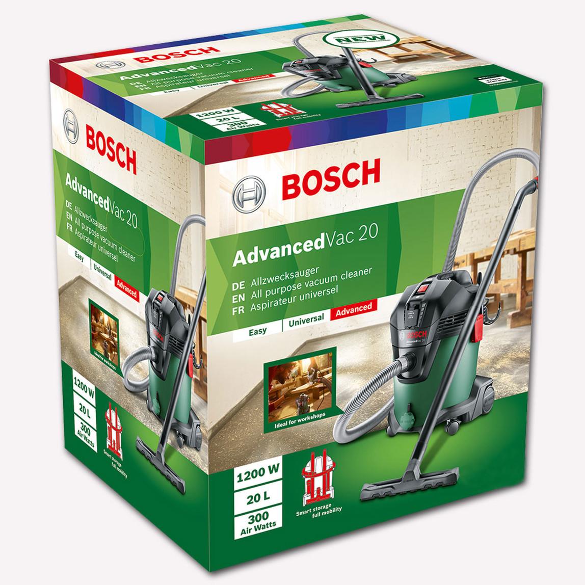 Bosch Advanced Vac 20 1200W Islak Kuru Elektrikli Süpürge