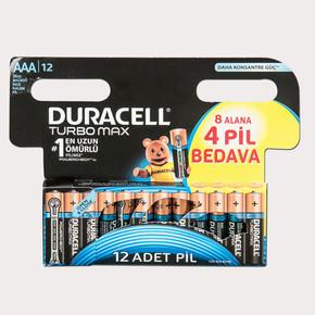 Duracell Ultra 8+4 İnce Kalem Pil AAA