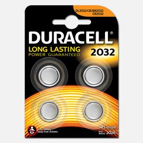 Duracell 2032 Pil 3 Volt 4' lü Paket