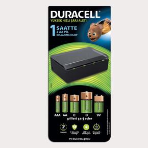 Duracell Cef 22 Universal Şarj Aleti (AA-AAA-C-D-9V Şarj Eder)