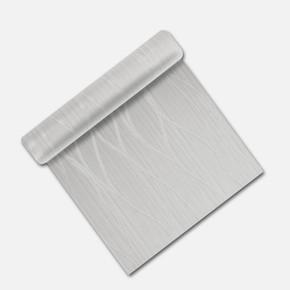 Dalgalı - Gri Simli Duvar Kağıdı