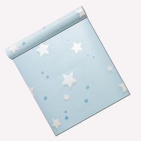 Yıldız - Mavi Duvar Kağıdı