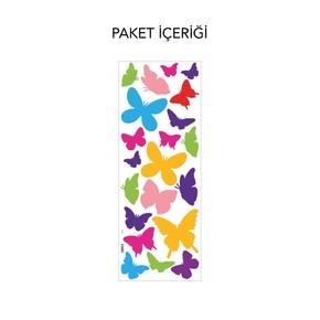 Kelebekler Pvc Sticker