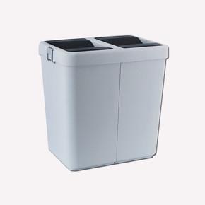 Comfort Dust Bin Çöp Kovası Gri 80 lt