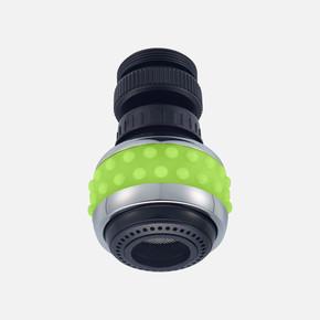 Bubble Stream Mutfak Musluğu Başlığı Yeşil