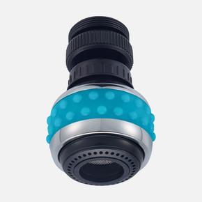 Bubble Stream Mutfak Musluğu Başlığı Mavi