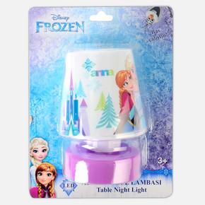Frozen Abajur Gece Lambası Pilli