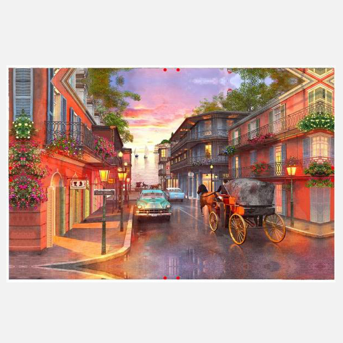 Kanvas Tablo Manzara 60x90 cm
