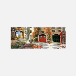 Kanvas Tablo Manzara 40x100cm
