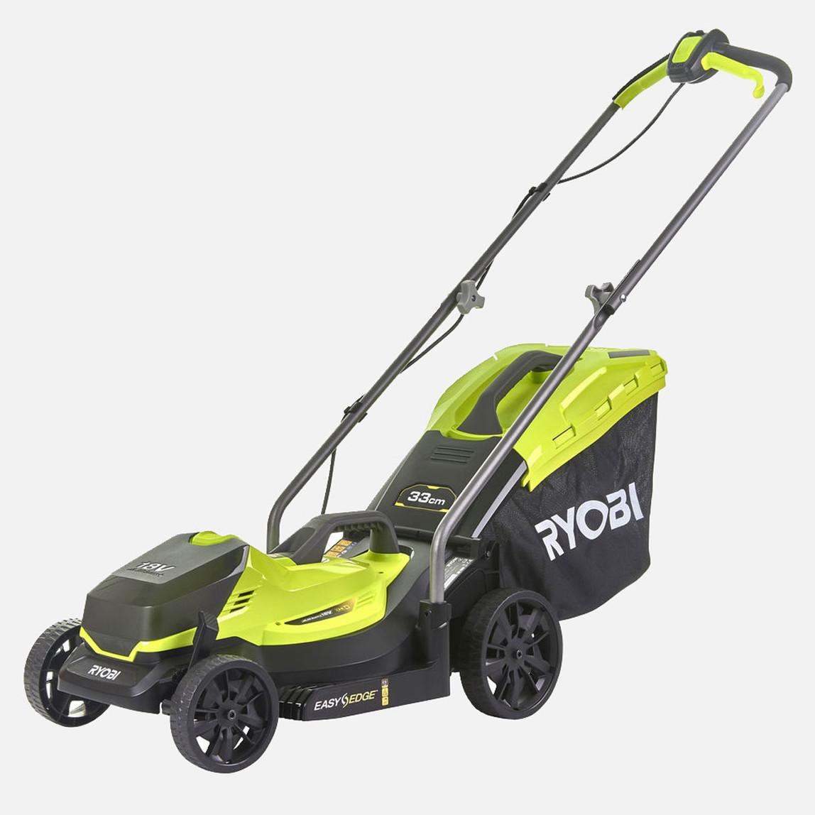 18V Akülü Tekerlekli Çim Biçme Makinası  1X4Ah   Rlm18X33B-40