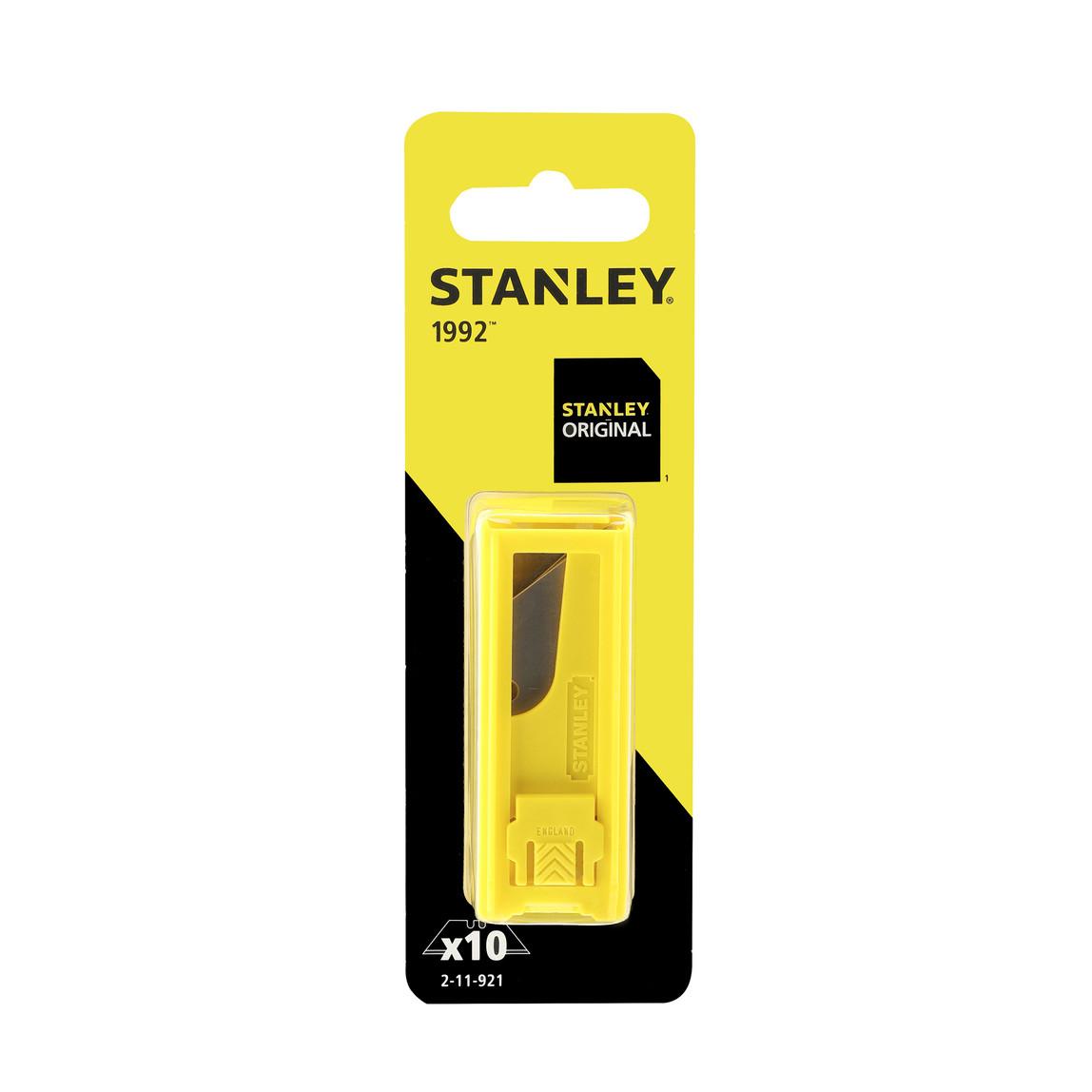 Stanley 2-11-921 10'lu Maket Bıçağı Yedeği 62x19mm