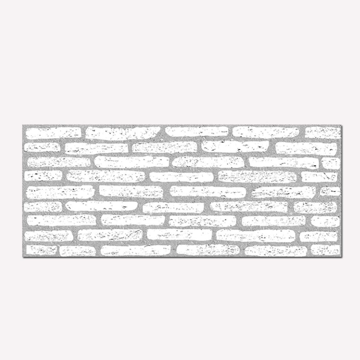 Deko Stil DP42 Beyaz Kırık Tuğla Duvar Kaplama Paneli