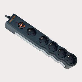 Tunçmatik TSK6134 Powersurge 5'Li 1050 Joule 1.5 Metre Enerji Koruma Prizi Beyaz