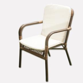 Sunfun Alu Rattan Bahçe Sandalyesi Kahverengi