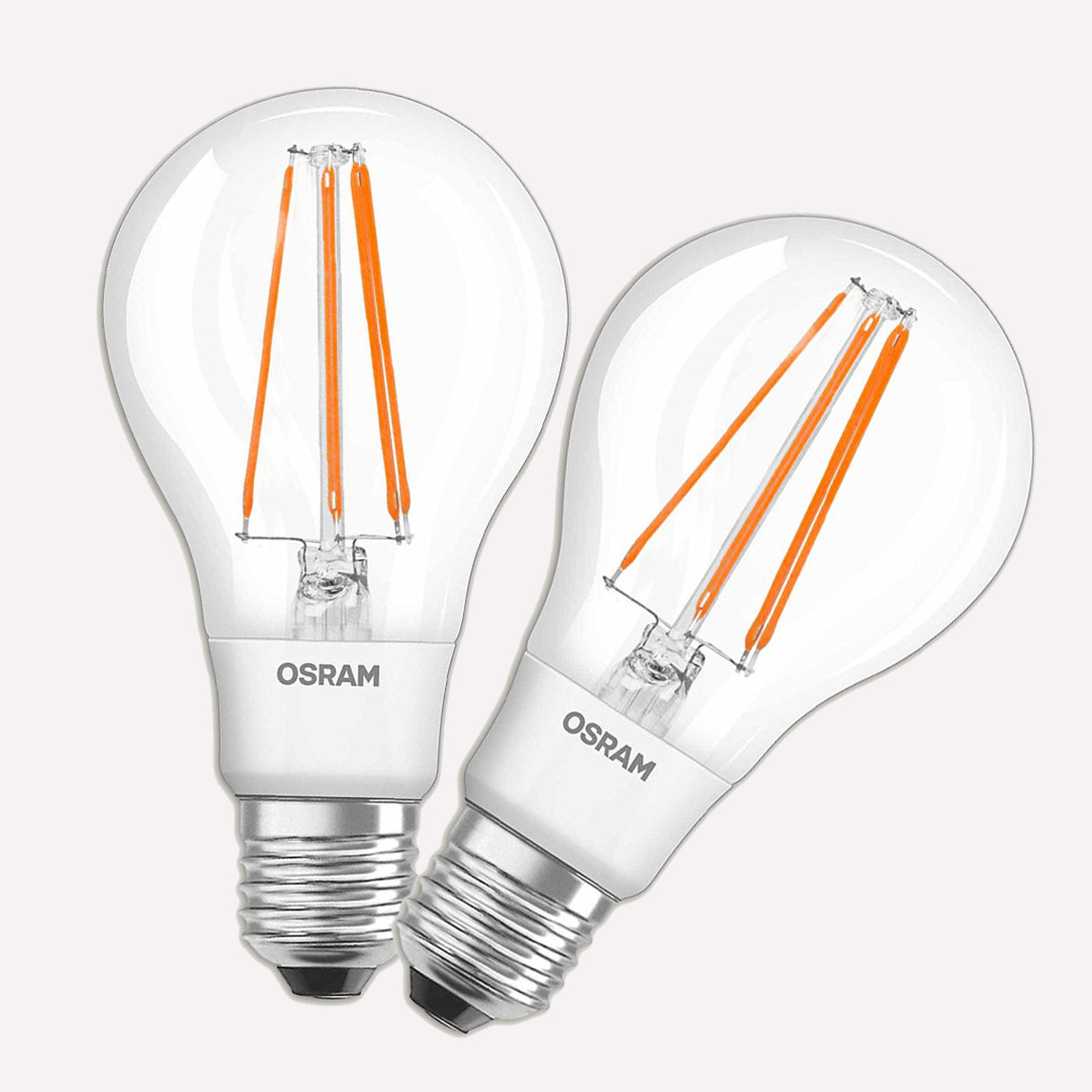 Osram 2'li Led Ampul E27 60W