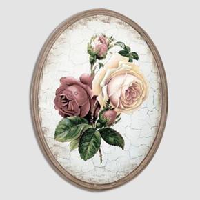 Dekoratif Oval Resim