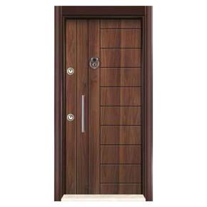 Yakut Seri Ky 602 Rustık Laminat Noks Çelik Kapı Sol 14-22 cm Kasa