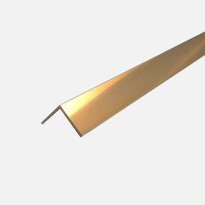 30X30 Aliminyum L Profili 2,70Mt Mat Sarı