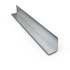 10X10 Aliminyum L Profili 2,70Mt Parlak Gümüş