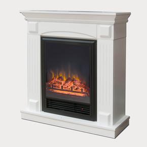 Fuego 1600W Dekoratif Şömine Beyaz