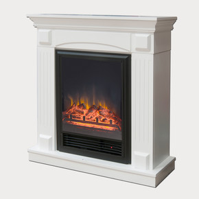 1600W Fuego Dekoratif Şömine Beyaz