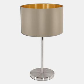 Eglo Maserlo Abajur Kahve-Altın 1X60W E27