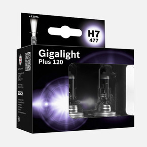 Bosch Oto Ampul 12VH7 Gigalight Plus 120
