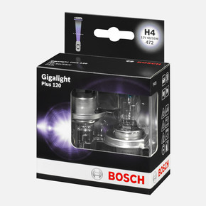 Bosch Oto Ampul 12VH4 Gigalight Plus 120