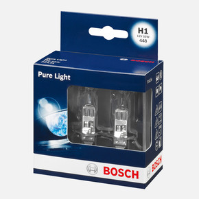 Bosch Oto Ampul 12VH1 Pure Light