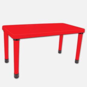 Masa 60X120CM Kırmızı