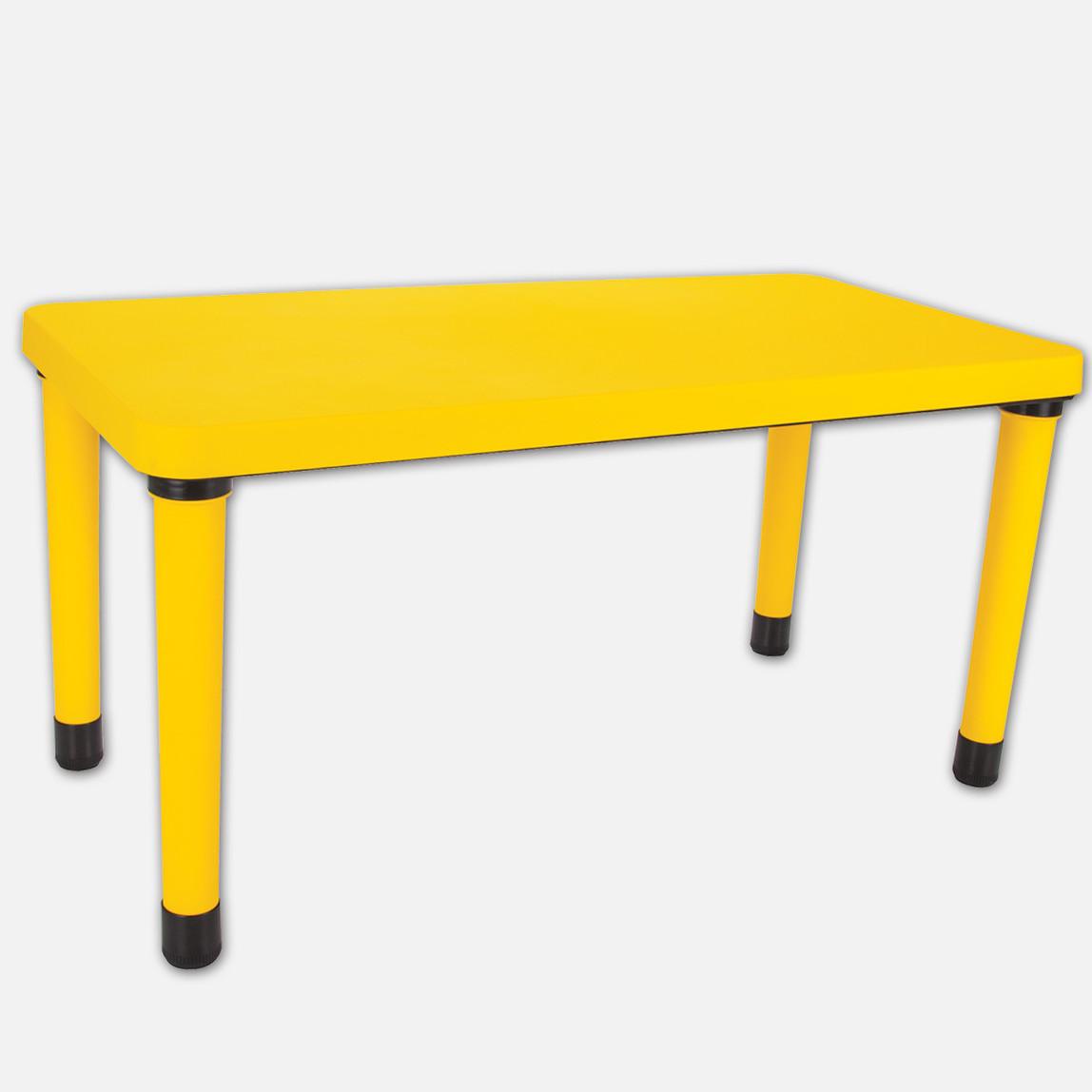 Masa  60X120cm Sarı