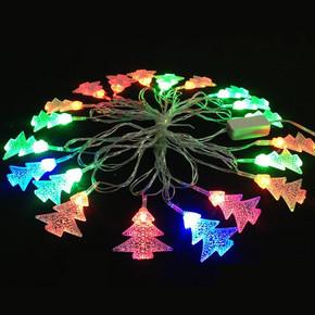 Yılbaşı 10 Ledli Mini Çam Ağaçları