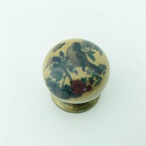 Yıldız Düğme D27 Desen Krom Kulp