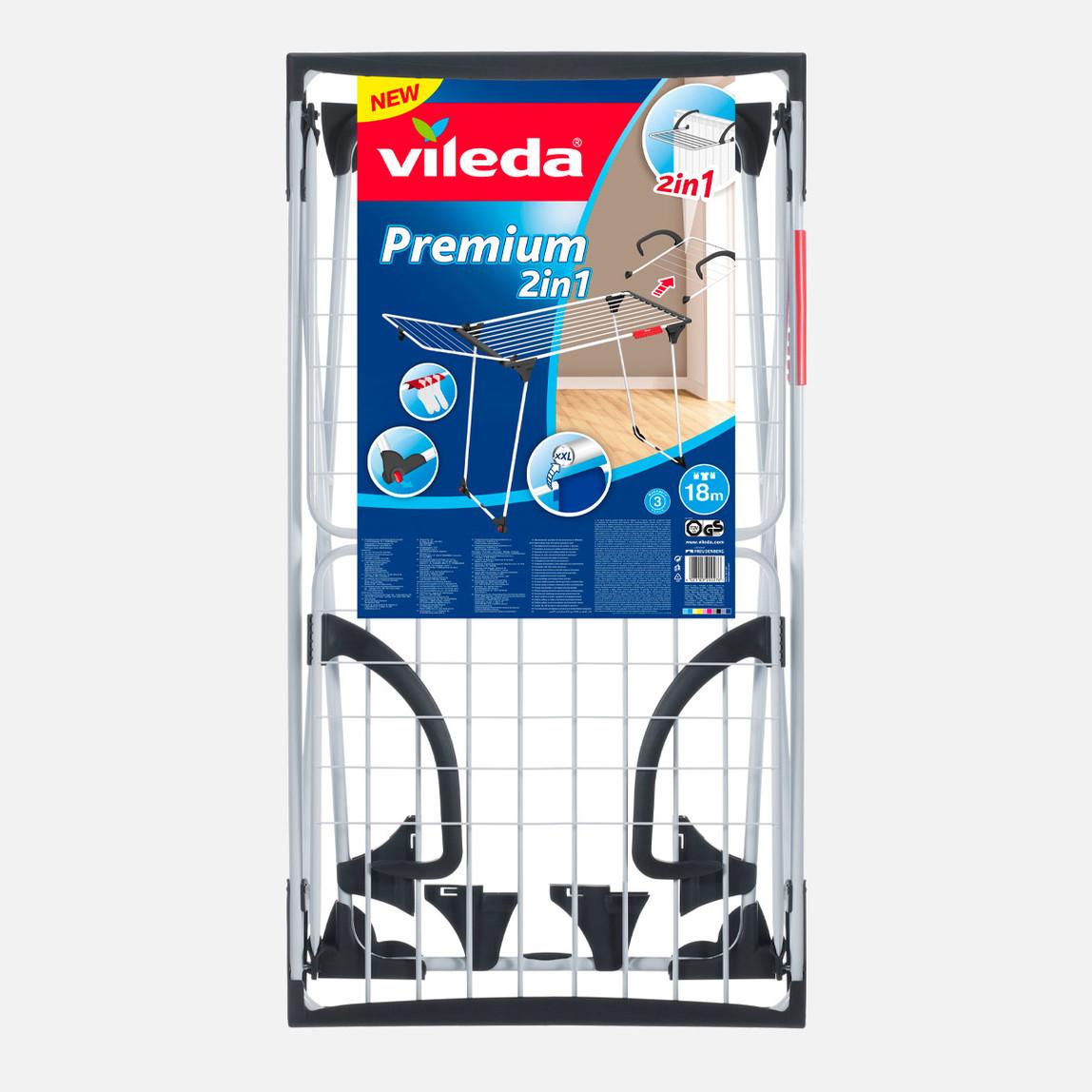 Vileda Premium 2 In 1 Çıkarılabilir Kanatlı Kurutmalık