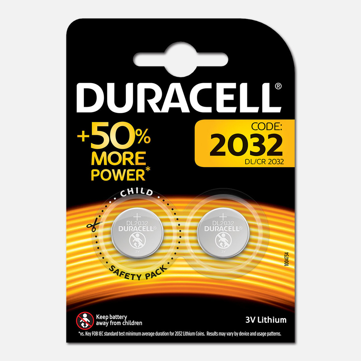 Duracell Düğme Pil 2032 2' li Paket