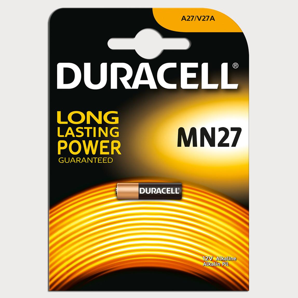 Duracell MN27 27A 12 Volt Alkaline Pil