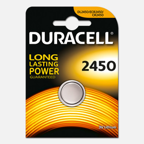 Duracell Düğme Pil 2450 3 Volt