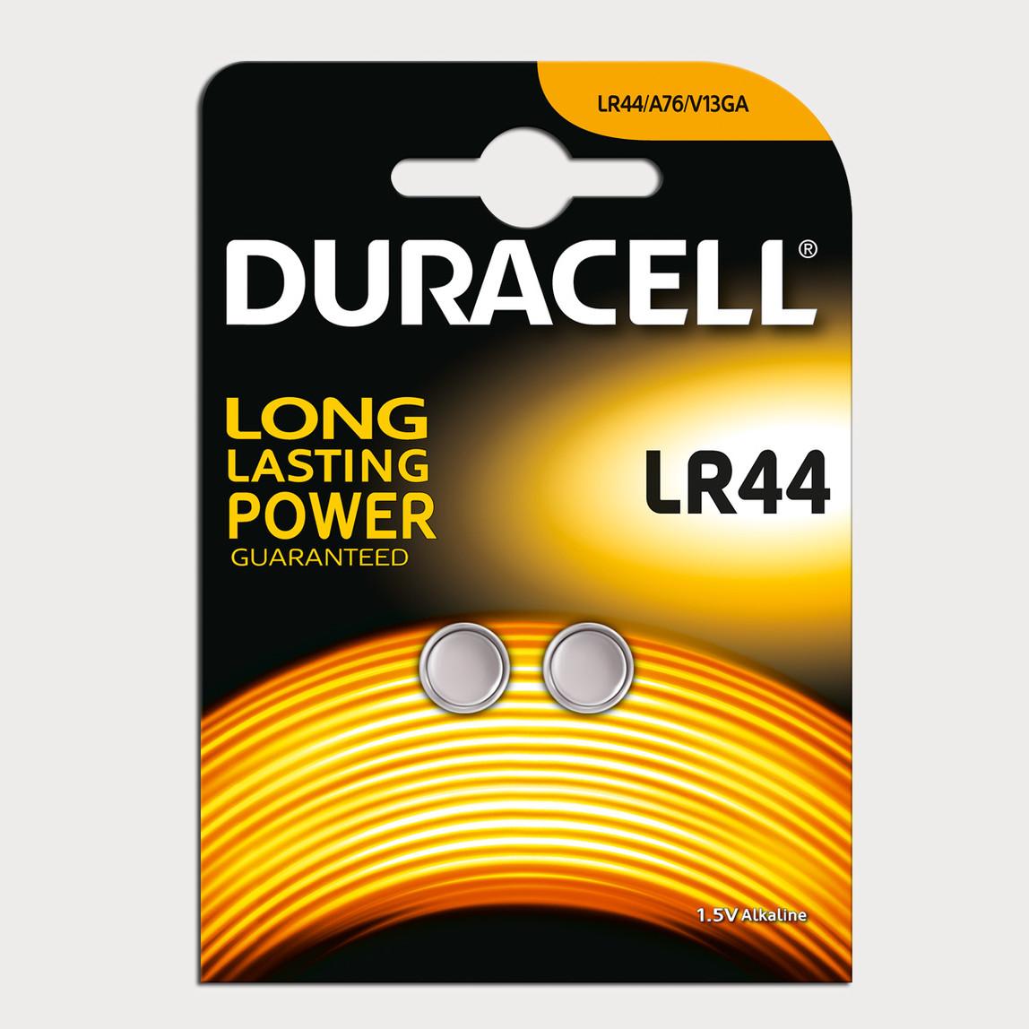 Duracell Düğme Pil LR44 2'li 1.5 Volt