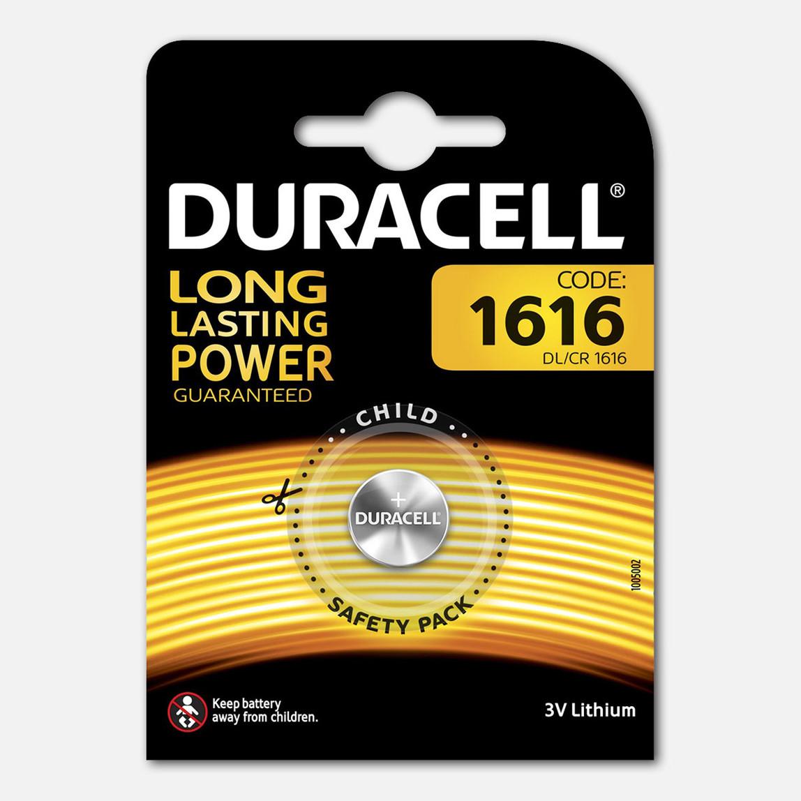 Duracell Düğme Pil 1616 3 Volt