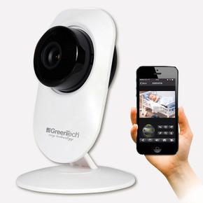 Greentech GT-IP21HD Sabit Kablosuz WIFI Gece Görüşlü IP Kamera
