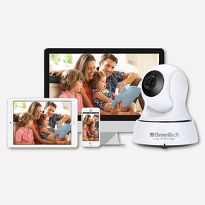 Greentech GT-IP23HD Hareketli Kablosuz WIFI Gece Görüşlü IP Kamera