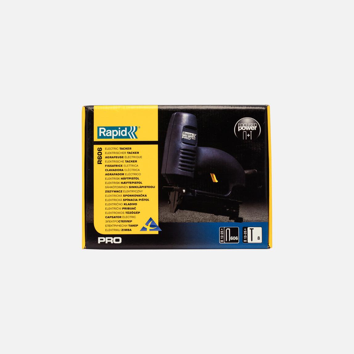 Elektirikli Zımba Teli ve Çivi Çakma Tabancası R606