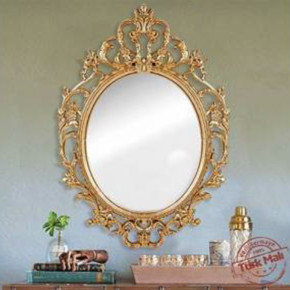 50X70 cm Gold Dekoratif Ayna