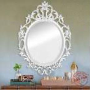 50X70 cm Gümüş Dekoratif Ayna